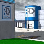 Car Dealership for Poser 3d model