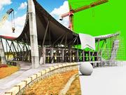 Под строительство сцены 3d model