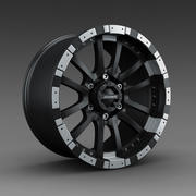 Advanti Racing-RC Roccia Wheel Rim 3D 모델 3d model