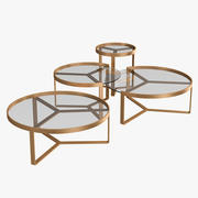 Aula Tables Collection 3d model