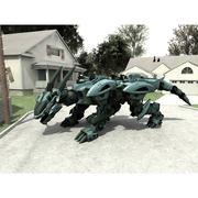 Drege Robo in obj format 3d model