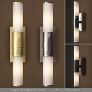 RH CADE DOUBLE SCONCE 3d model