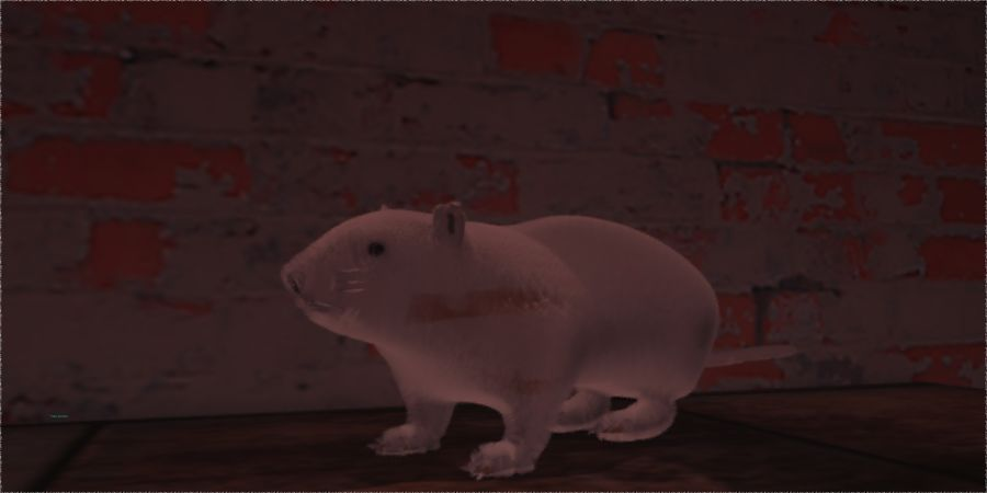 Rat royalty-free 3d model - Preview no. 2