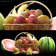 水果套装1 3d model