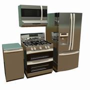 Kitchen Appliances 3d model