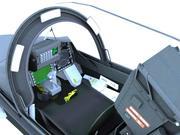 JAS-39 Gripen Cockpit 3d model