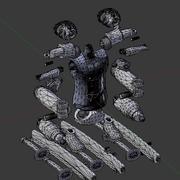 Roronoa Zoro Figure 3d model