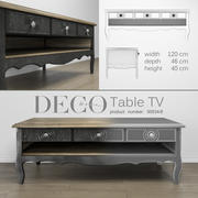 Stolik RTV Deco-Home 3d model
