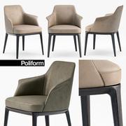 Poliform Sophie armchair 3d model