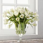 Tulip centerpiece 3d model
