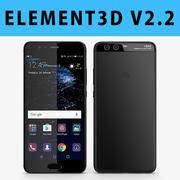 E3D-华为P10黑色 3d model