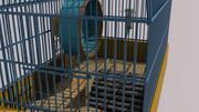 Kooi voor knaagdieren 3d model