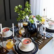 table setting 3d model