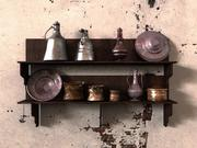 Vecchi utensili da cucina 3d model