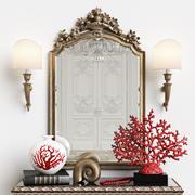 Зеркало Челини арт.403 3d model