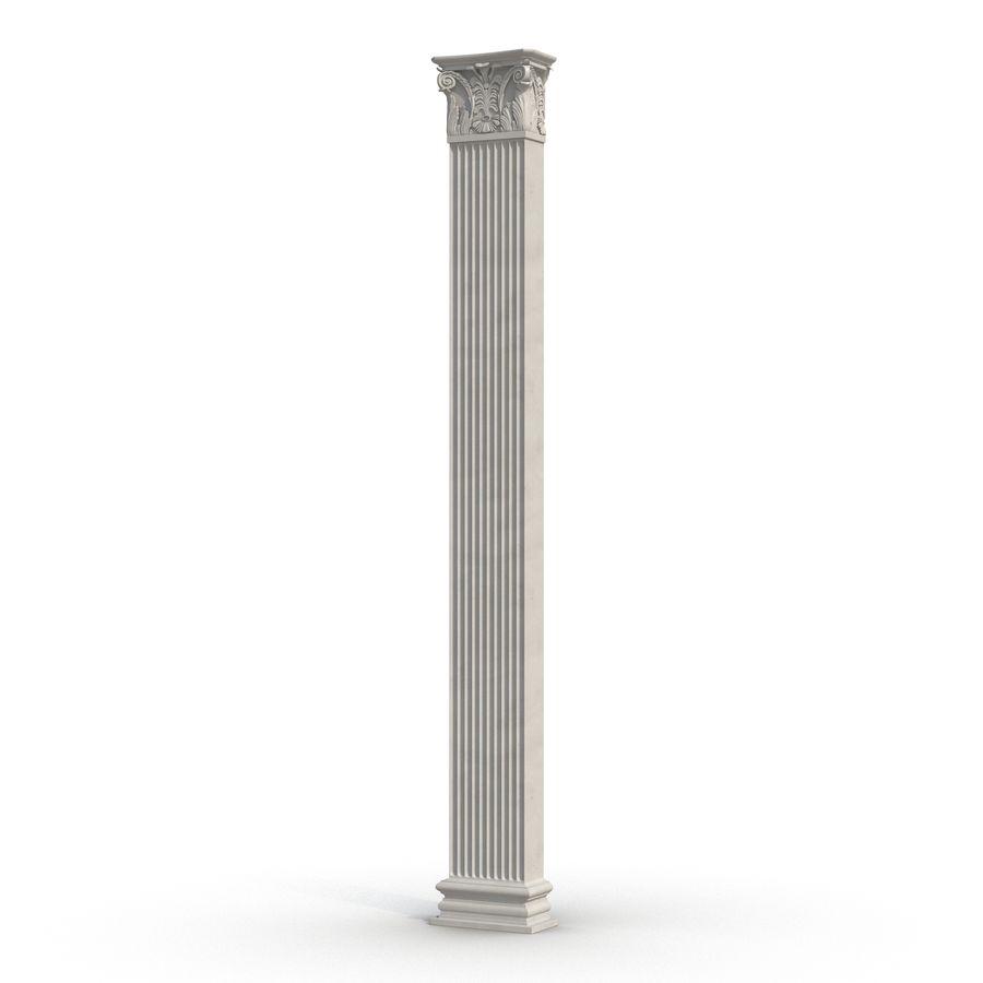 Colección de elementos de arquitectura grecorromana royalty-free modelo 3d - Preview no. 19