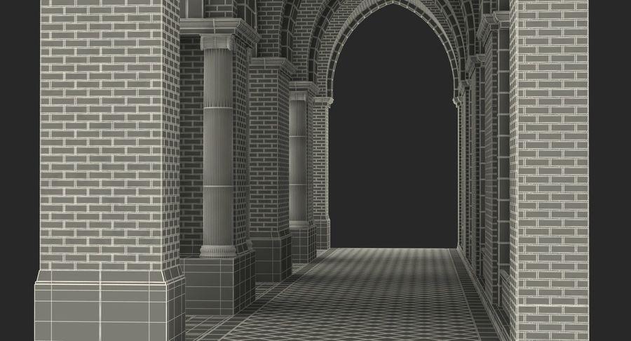 Colección de elementos de arquitectura grecorromana royalty-free modelo 3d - Preview no. 48