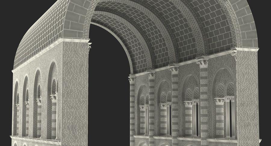Colección de elementos de arquitectura grecorromana royalty-free modelo 3d - Preview no. 51