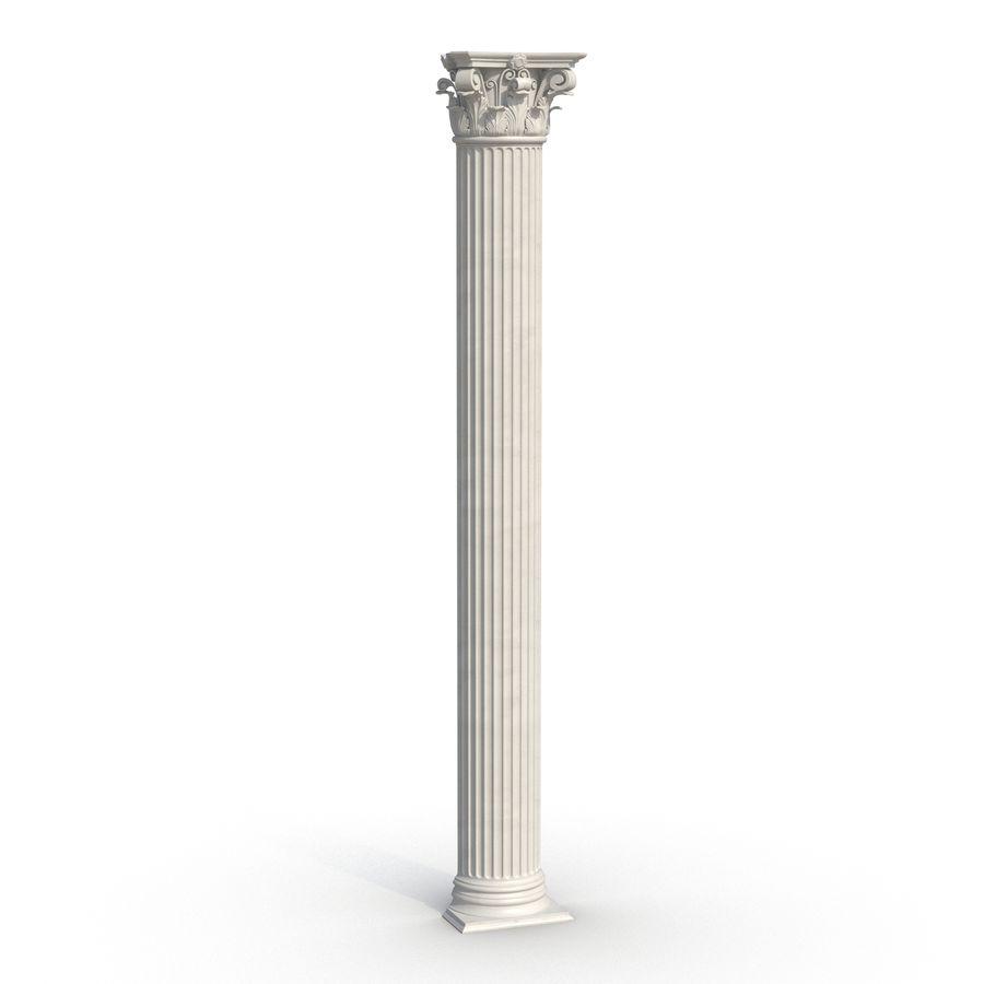Colección de elementos de arquitectura grecorromana royalty-free modelo 3d - Preview no. 21