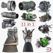 Aircraft Engines Collection 2 3d model