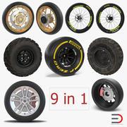 Wheels Big 3D Modelsコレクション 3d model