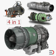 Turbofan Engines 3D Models Collection 3 3d model