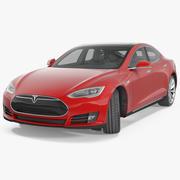 Tesla Model S 75 2015索具3D模型 3d model