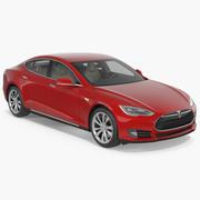 Tesla Model S 60 2015 3D模型 3d model