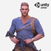 Held soldaat 3d model