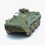 BTR-80A 3d model