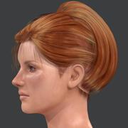 Lisa - Realistic Character in Blender 3d model