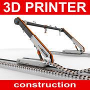 3D Yazıcı Yapısı 3d model