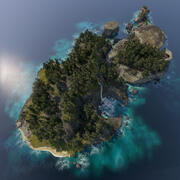 Île 3d model