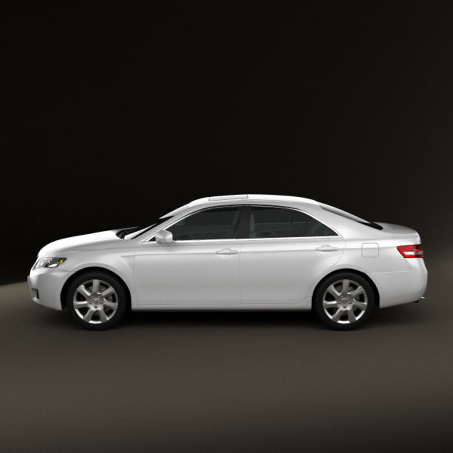 HQ 내부를 가진 Toyota Camry 2010 royalty-free 3d model - Preview no. 5