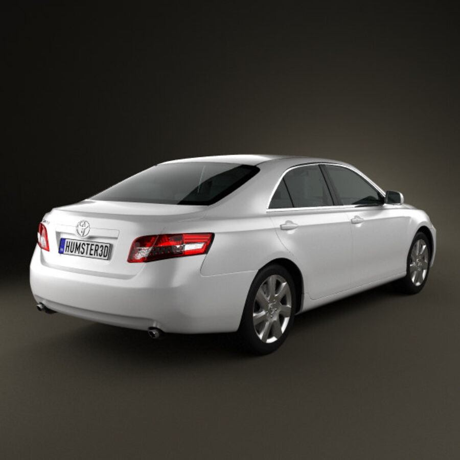 HQ 내부를 가진 Toyota Camry 2010 royalty-free 3d model - Preview no. 2