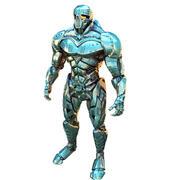 Super eroe TITAN 3d model