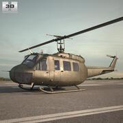 ベルUH-1イロコイ 3d model