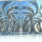 Futuristic Architectural Interior 21 3d model