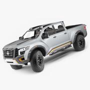 Nissan Titan Warrior (aparejado) modelo 3d