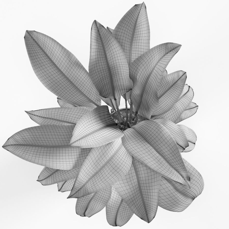 Plant royalty-free 3d model - Preview no. 10
