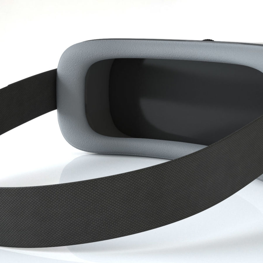 3D World Virtual Reality helmet goggles for gaming royalty-free 3d model - Preview no. 3