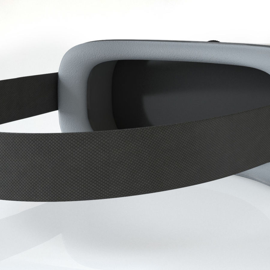 3D World Virtual Reality helmet goggles for gaming royalty-free 3d model - Preview no. 5