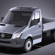 Mercedes-Benz Sprinter Pickup short 2017 VRAY 3d model