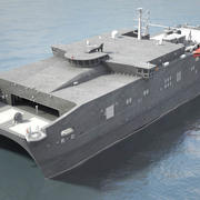 USNS Spearhead JHSV-1 3d model