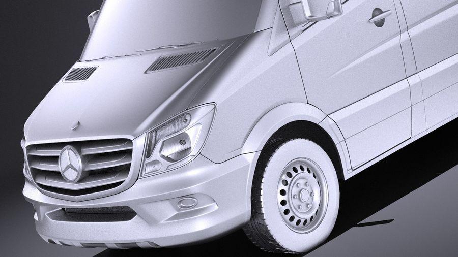 Mercedes-Benz Sprinter Passenger Van 2017 VRAY royalty-free 3d model - Preview no. 10