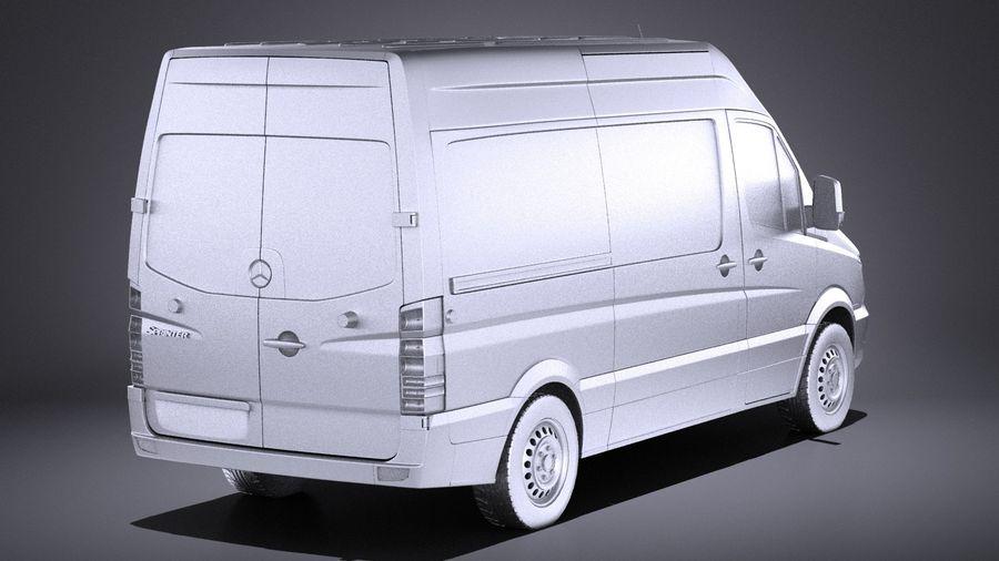 Mercedes-Benz Sprinter Passenger Van 2017 VRAY royalty-free 3d model - Preview no. 12