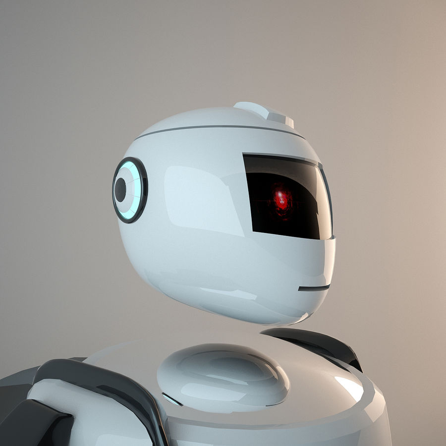 Robot royalty-free 3d model - Preview no. 4