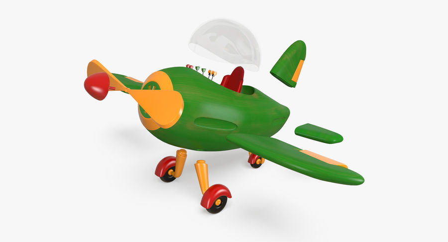 Airplane royalty-free 3d model - Preview no. 7