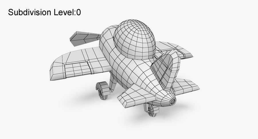 Airplane royalty-free 3d model - Preview no. 12