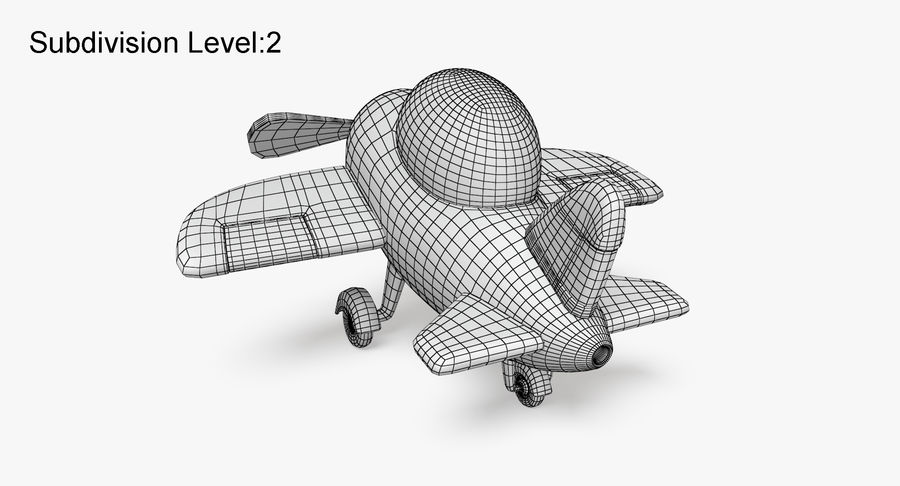 Airplane royalty-free 3d model - Preview no. 13